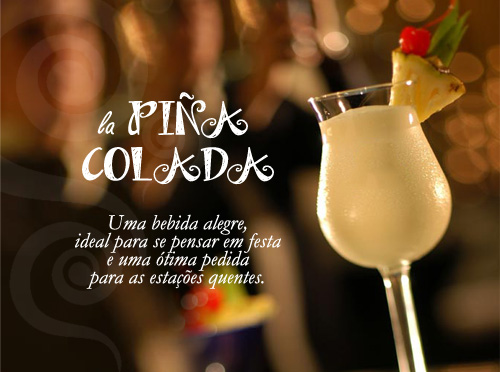 Especial de Drinks - Piña Colada - Candice Cigar Co