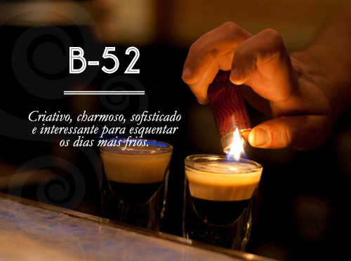 Especial de Drinks - B-52 - Candice Cigar Co
